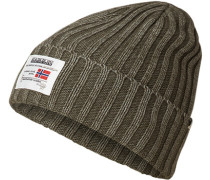Mütze, Wolle, khaki
