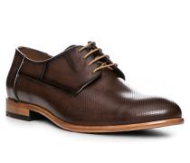 Schuhe Derby Napir, Kalbleder