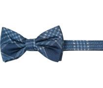 Krawatte Schleife, Seide, kariert