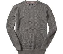 Pullover Pulli, Baumwolle, gemustert