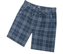 Pyjamashorts Herren, Mikrofaser