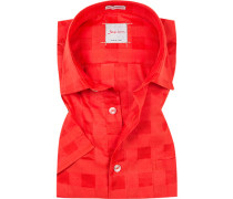 Kurzarm-Hemd, Modern Fit, Baumwolle