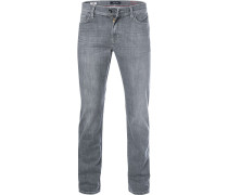 Blue-Jeans, Straight Fit, Baumwolle