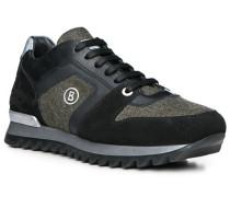 Schuhe Sneaker, Leder-Tetil, -khaki