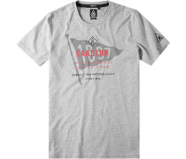T-Shirt, Baumwolle, gemustert