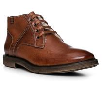 Schuhe Stiefelette, Kalbleder-Lammfell
