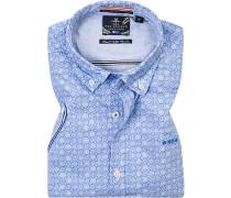 Hemd, Baumwolle, gemustert