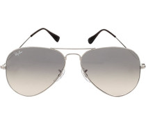 Brillen Sonnenbrille Aviator, Metall