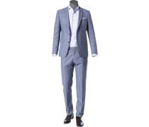 Anzug, Extra Slim Fit, Schurwolle Super130