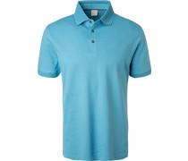 Polo-Shirt Polo, Baumwoll-Piqué, himmelblau