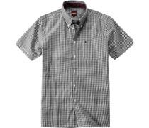 Hemd, Popeline, -weiß kariert