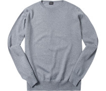 Pullover, Wolle, hellgrau