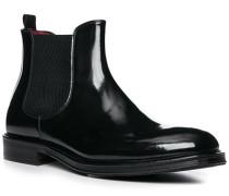 Chelsea Boots Herren, Lackleder