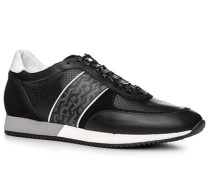 Schuhe Sneaker, Leder-Textil
