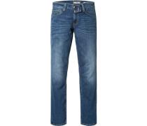 Jeans, Slim Fit, Baumwoll-Stretch