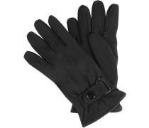 Handschuhe, Hirschveloursleder