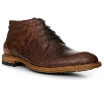 Schuhe Schnürstiefelette, Kalbleder