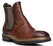Schuhe Chelsea Boots, Leder, cuoio