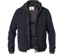 3in1 Jacke, Funktions-Mikrofaser, navy