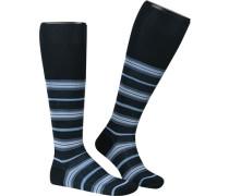 Socken Serie Portofino, Kniestrümpfe, Baumwolle-Seide