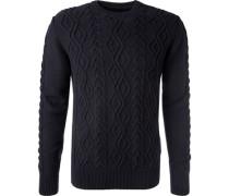 Pullover, Wolle, dunkelblau