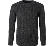 Pullover Pulli, Wolle, anthrazit