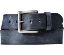 Gürtel dunkelblau, Breite 43 mm