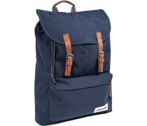Tasche Rucksack, Mikrofaser, marineblau