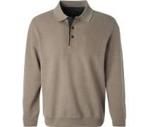 Polo-Shirt Polo, Baumwolle, meliert