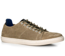 Schuhe Sneaker, Veloursleder