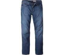 Jeans, Regular Fit, Baumwoll-Stretch COOLMAX®