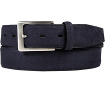 Gürtel marineblau, Breite ca. 3,5 cm
