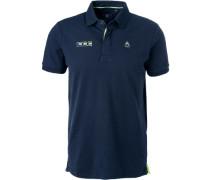 Polo-Shirt Polo, Baumwoll-Piqué, navy