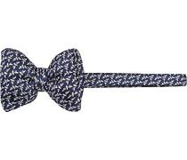 Krawatte Schleife, Seide, dunkelblau