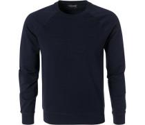 Sweatshirt, Baumwolle, nachtblau
