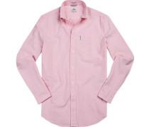 Hemd, Regular Fit, Oxford, rosa
