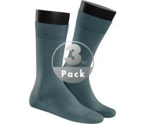 Socken Socken, Baumwolle, petrol