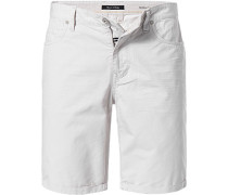 Jeansshorts, Baumwolle, offwhite