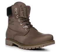 Schuhe Schnürstiefeletten, Nubukleder warm gefüttert