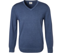 Pullover, Body Fit, Schurwolle