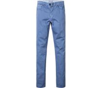 Blue-Jeans, Classic Fit, Baumwolle, eisblau