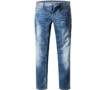 Jeans Oregon Tapered, Slim Fit, Baumwolle