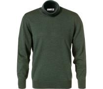 Rollkragen-Pullover Herren, Merinowolle