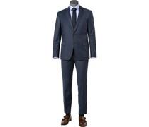 Anzug, Regular Fit, Schurwolle