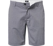 Hose Bermudashorts, Slim Fit, Baumwolle