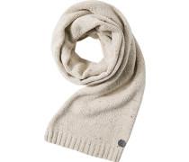 Schal, Wolle-Kaschmir, natur meliert