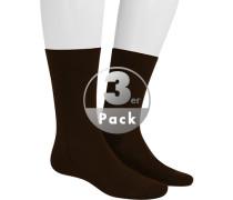 Socken Socken, Baumwolle, kaffeebraun