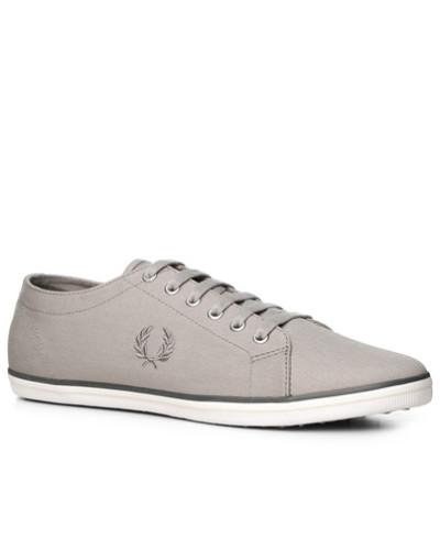 Fred Perry Herren Schuhe Sneaker, Textil, greige