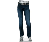 Cosy Blue-Jeans Pipe, Slim Fit, Baumwoll-Stretch