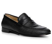 Schuhe Loafer, Leder